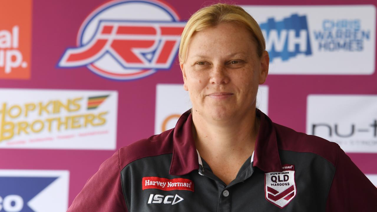 """CQ Capras women's coach Amanda Ohl: """"There's a lot of hard work that went on behind the scenes in such a short time for us to get up and going."""""""