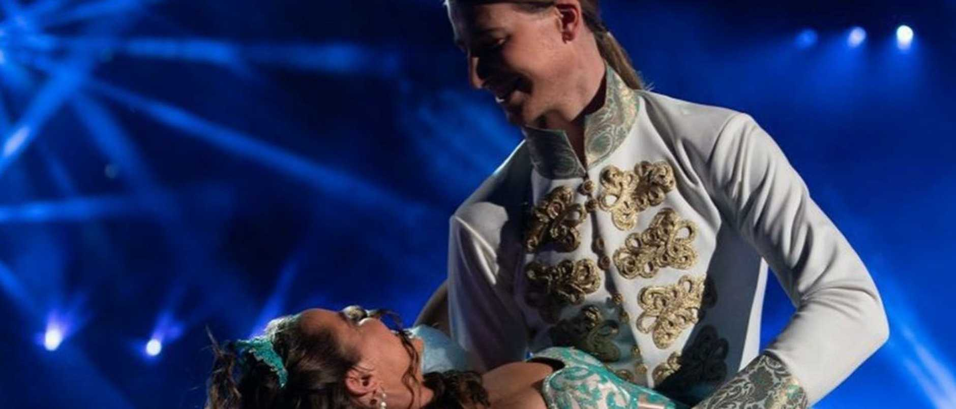 A Dancing with the Stars pair are set to go to new heights to keep dancing despite being placed in quarantine amid the coronavirus crisis.