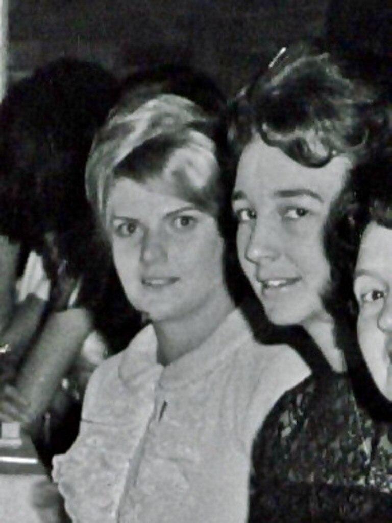 Shirley Eldridge (left) with Mima McKim-Hill.