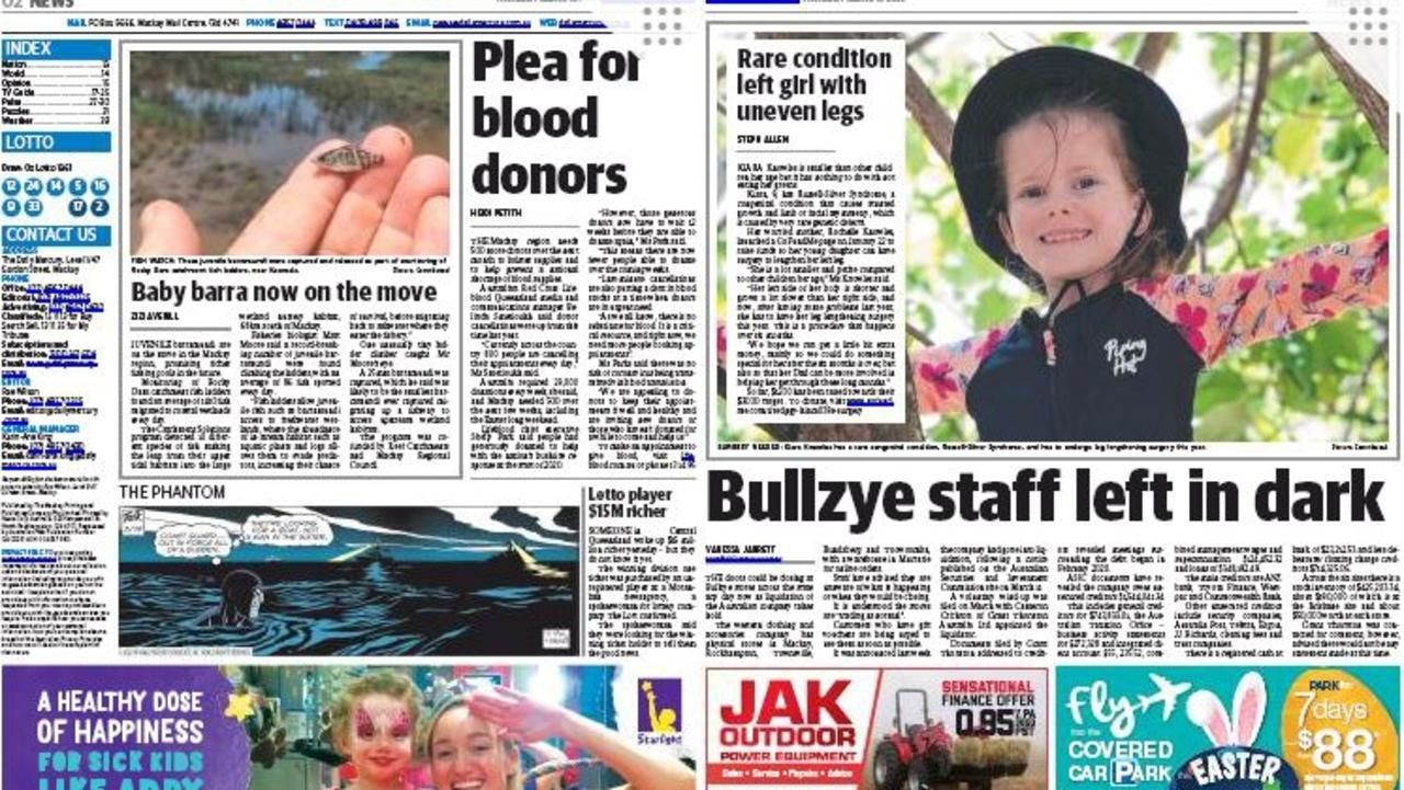 Small changes coming for the Daily Mercury.