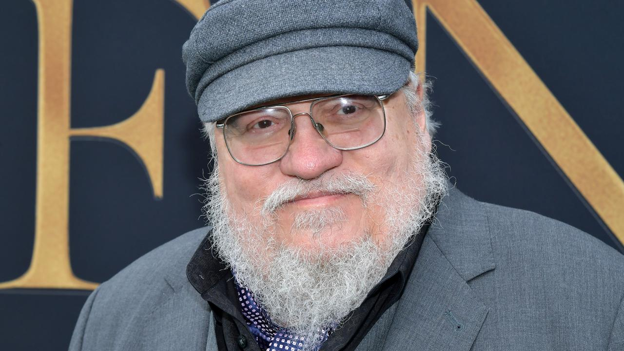 George R. R. Martin is working on the next Game of Thrones book. Picture: Amy Sussman/Getty Images
