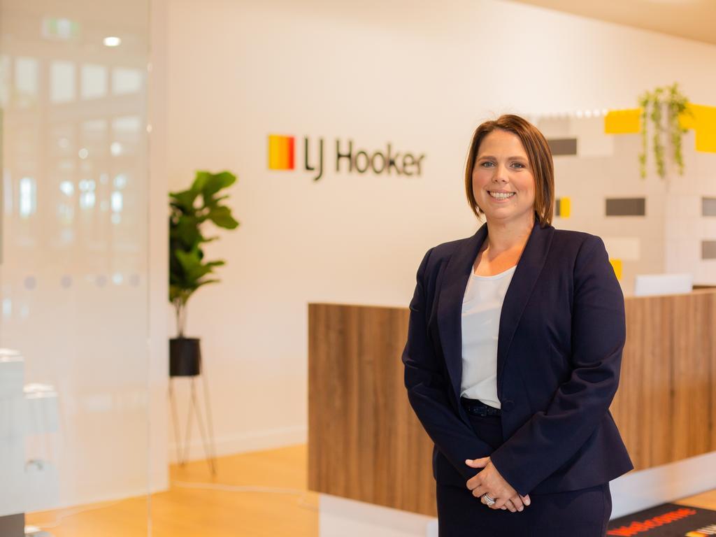 LJ Hooker Mackay general manager Tara Smyth.