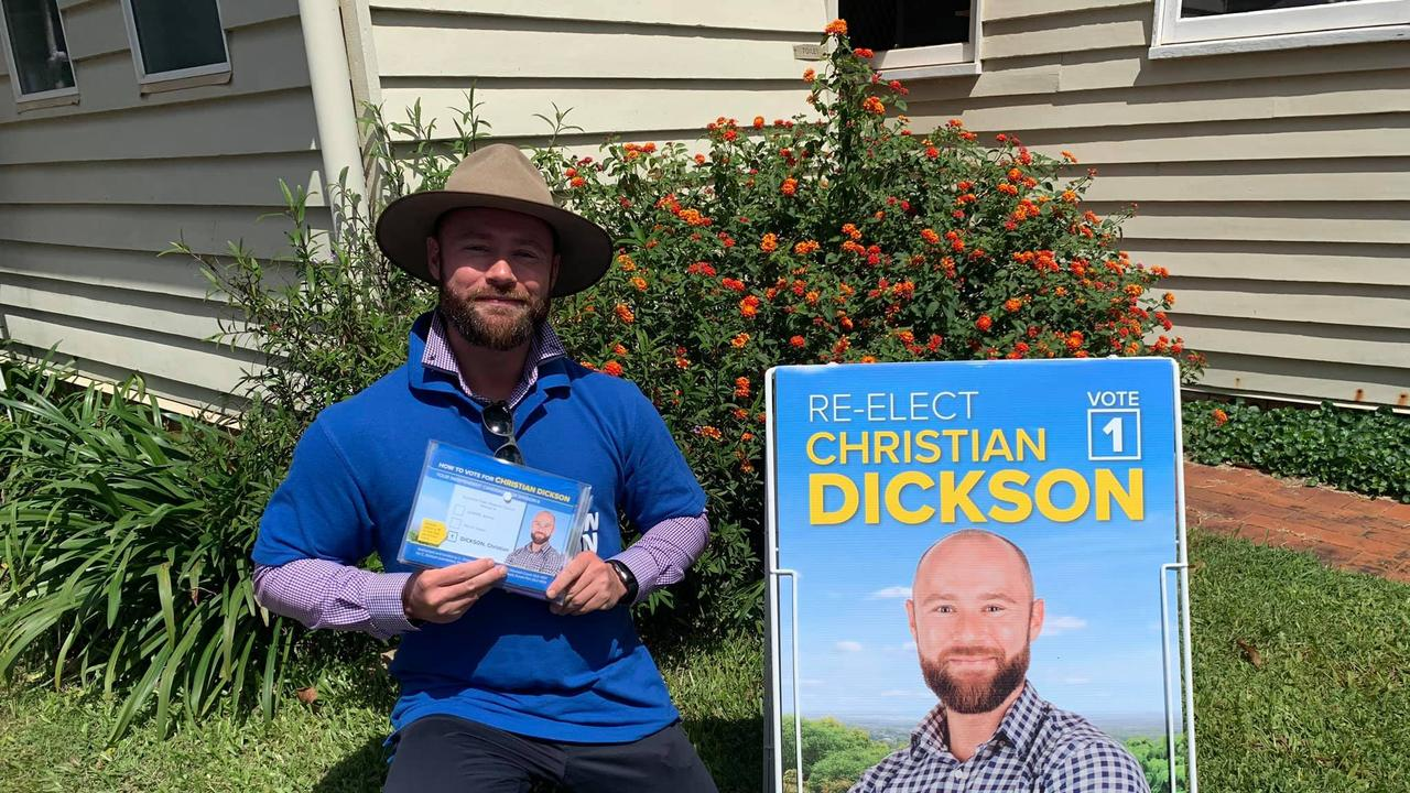 SOCIAL MEDIA IMAGE DISCUSS USE WITH YOUR EDITOR – Division 6 councillor and candidate Christian Dickson wants an extension on postal votes as coronavirus raises concerns and challenges for constituents.