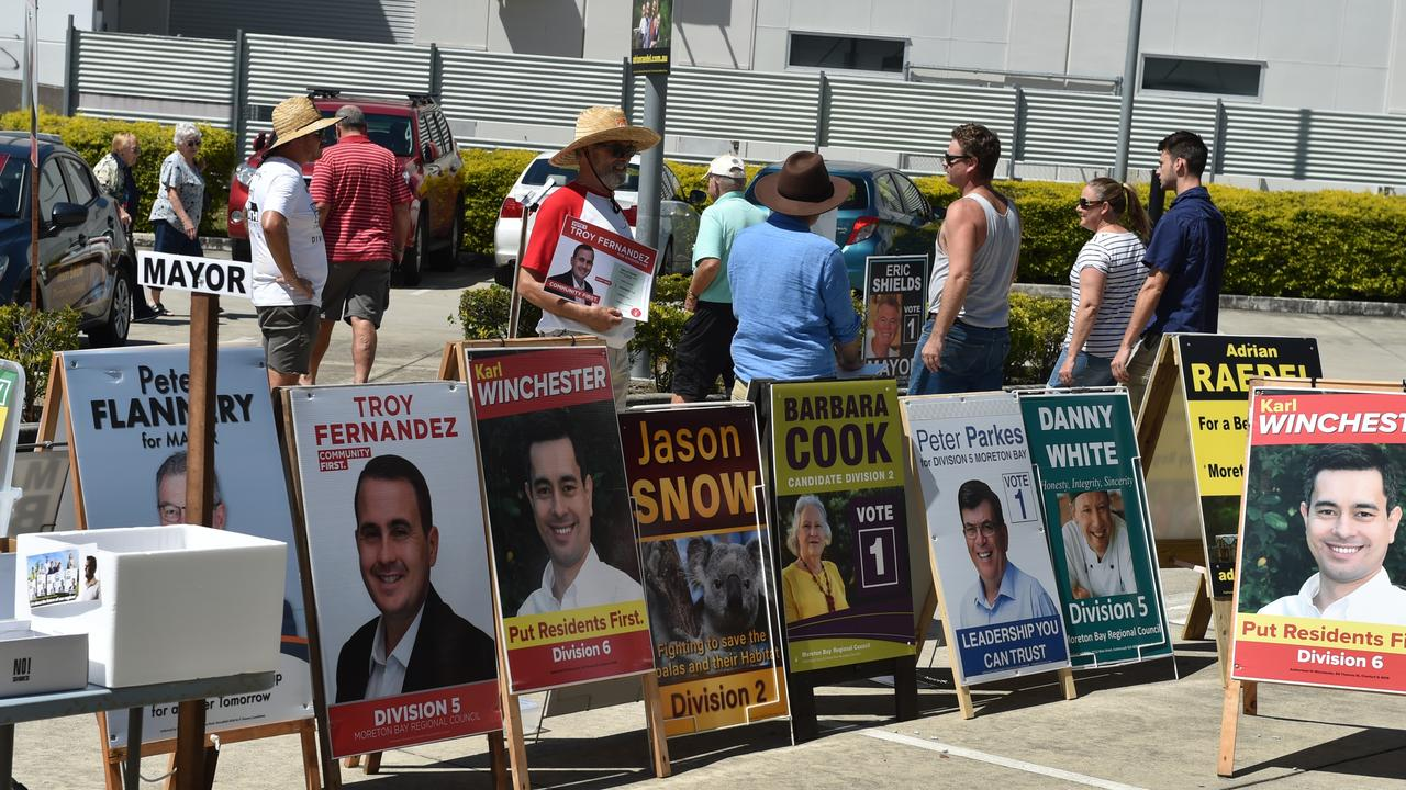Attorney-General issues new advice for voters as changes introduced to pre poll centres in Queensland.