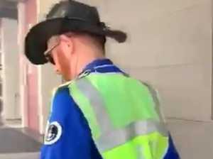 Motorist films foul tirade at parking ranger