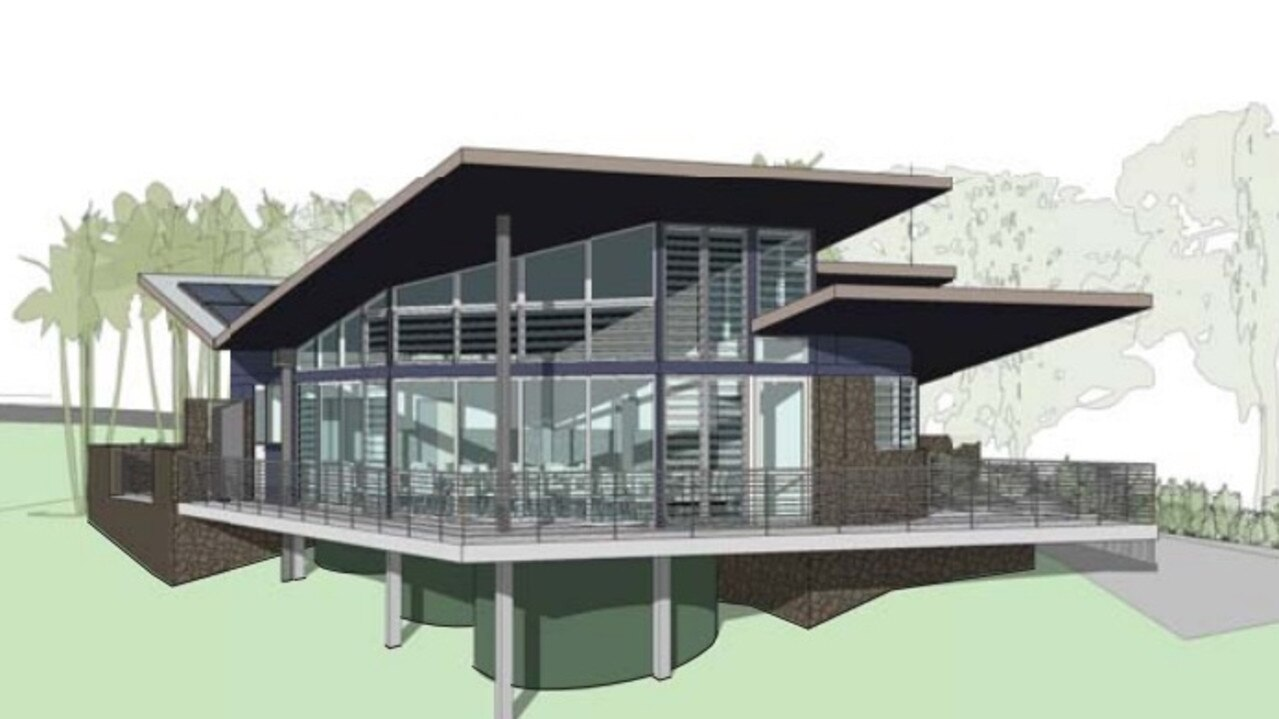 An artist's impression of the proposed restaurant.