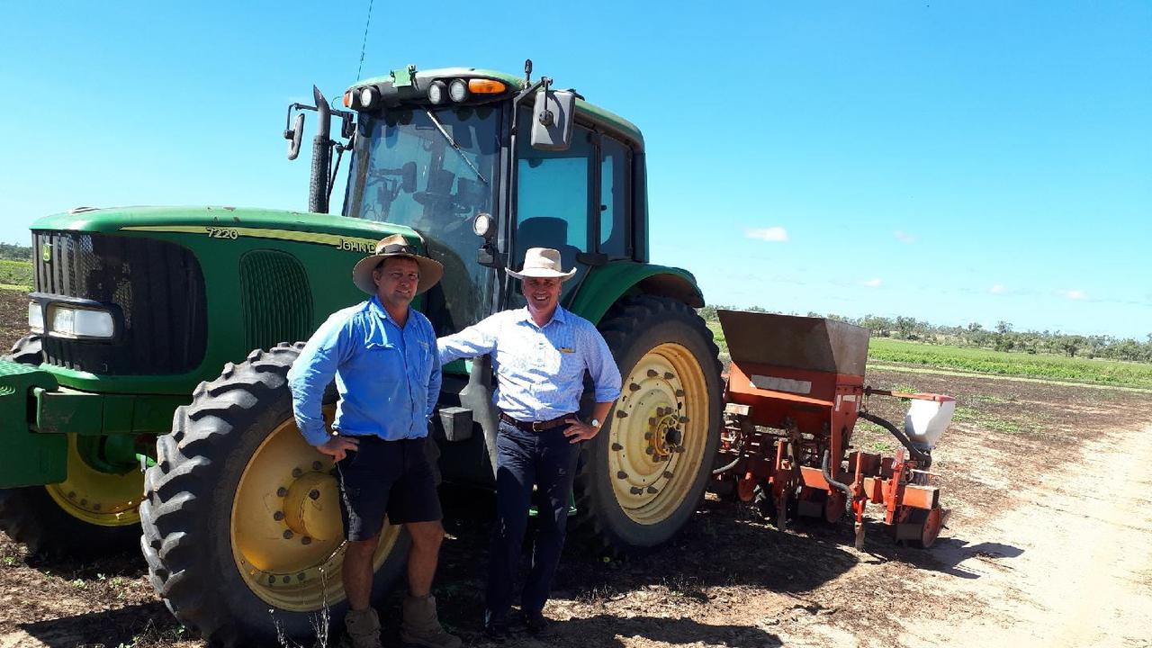 SHADOW Minister for Natural Resources and Mines and Shadow Minister for Northern Queensland Dale Last visited local graziers and farmers in Charters Towers.