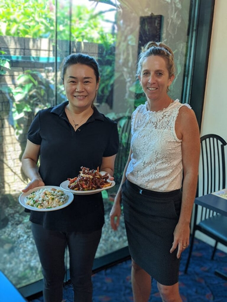 POPULAR PLACE: New master wok restaurant owner Wendy Yang and General Manager Nicola Donsworth of Iluka Bowls Club Ltd.