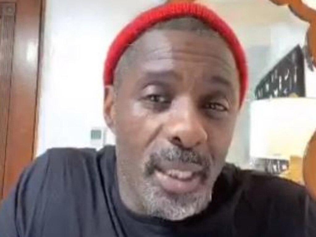 "Idris Elba tested positive and said it ""sucks"". Picture: Instagram"