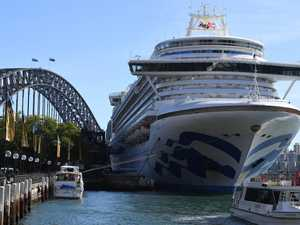 Cruise ship in Sydney hit by virus