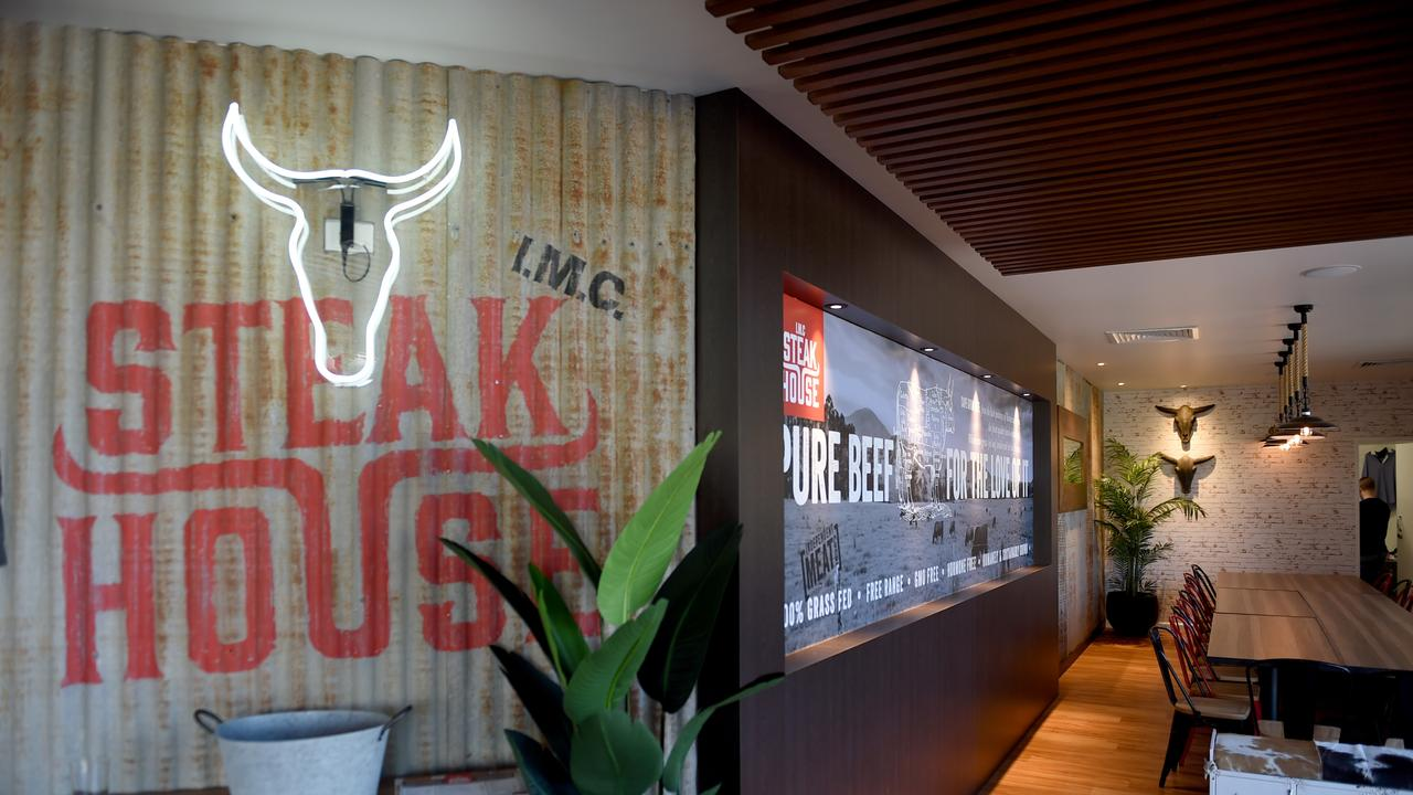 The new IMC Steak House at Willows. Picture: Evan Morgan