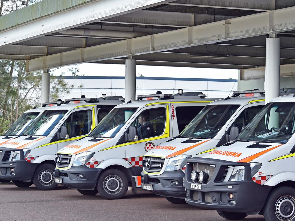 Seriously ill people are waiting up to an hour for an ambulance to arrive. Picture: AAP