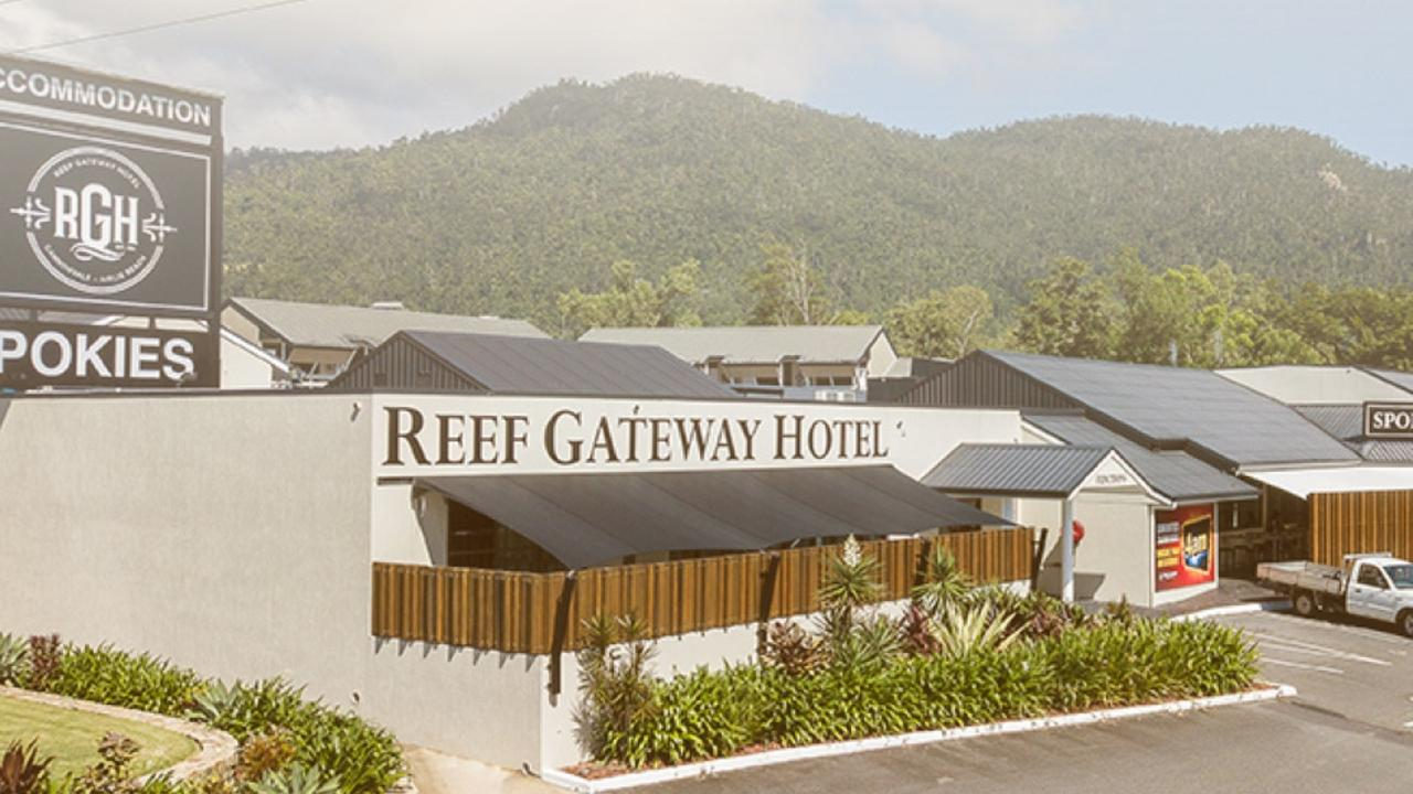 Restaurants, including the Reef Gateway Hotel, are adapting to the new conditions being imposed on everyone. Photo: Reef Gateway Hotel.