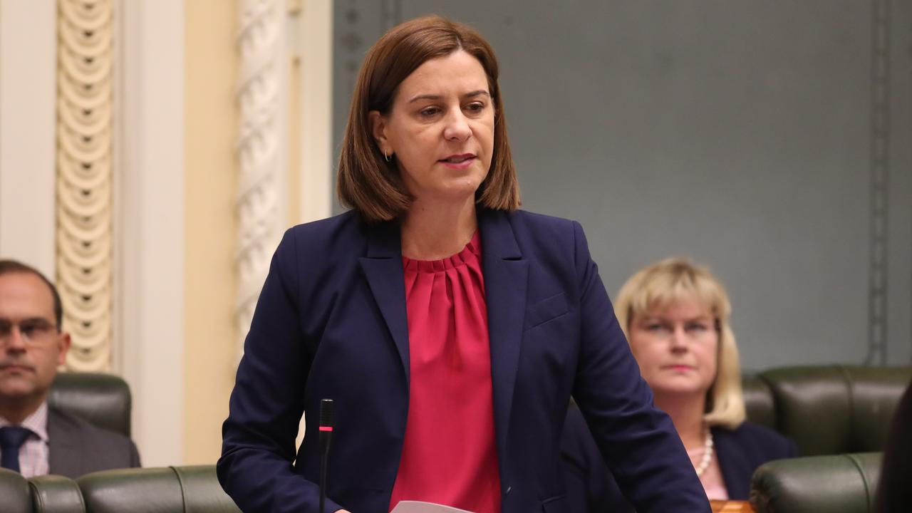 Deb Frecklington says the State Government is avoiding Townsville's crime issue. Pic Annette Dew