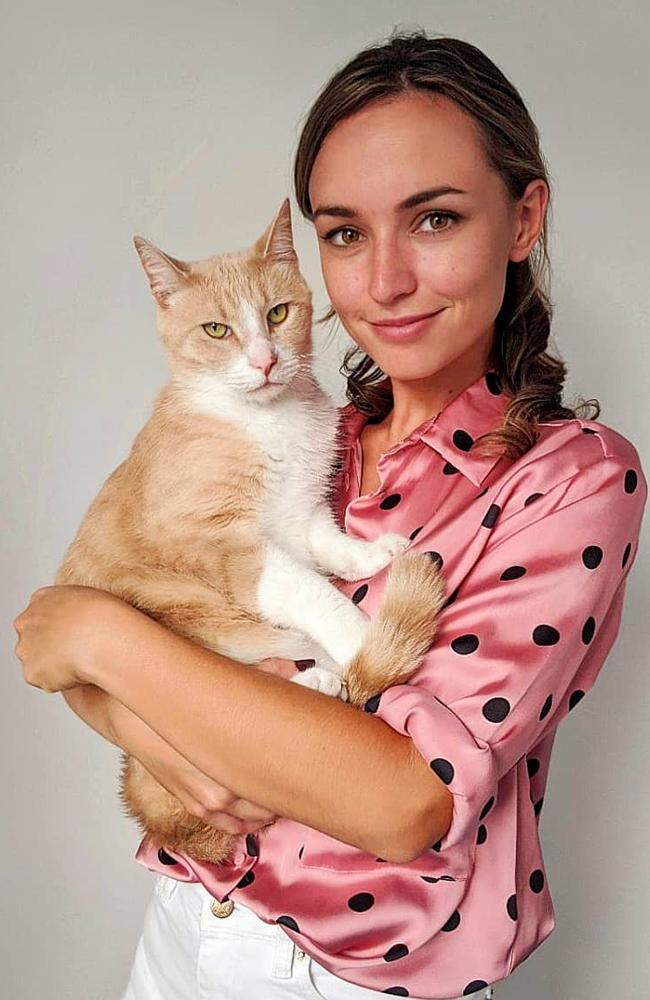 Brisbane veterinarian Dr Kate Bruce. Picture: Kate Bruce