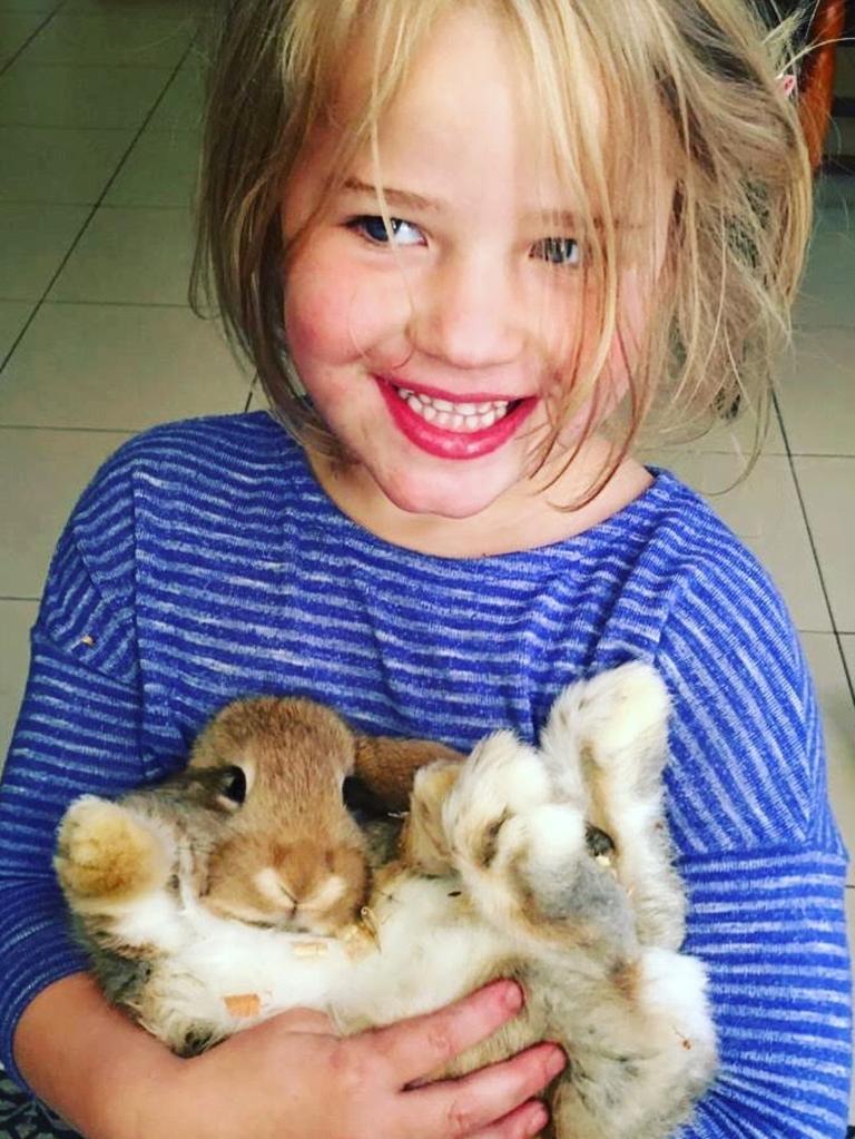 Lena Woolley, 5. Picture: Julie Woolley
