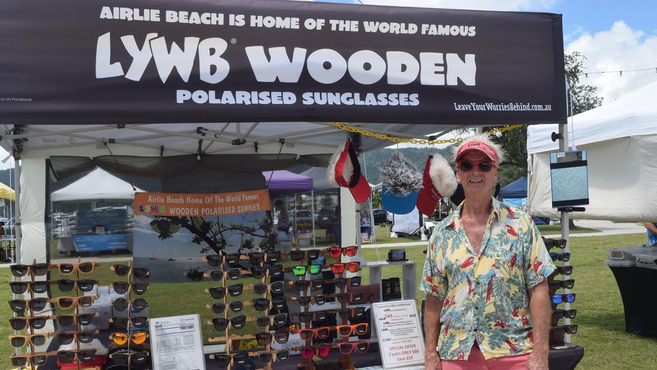Ron Thynne from LYWB Wooden Polarised Sunnies