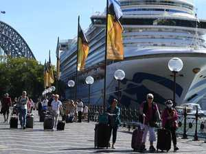 Territory couple test positive after cruise