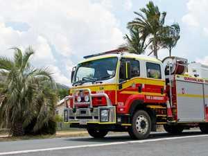Car fire blocks highway south of Mackay