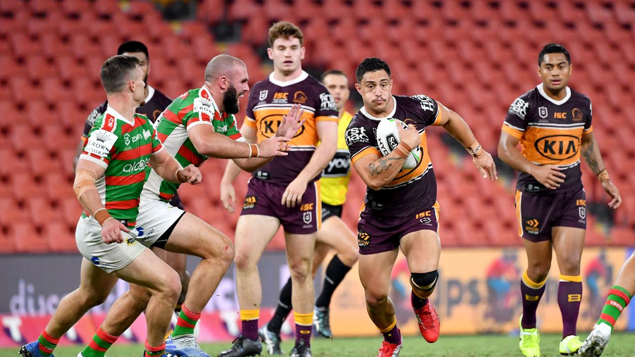 Staggs has now scored 11 tries in his last 11 games. Picture: AAP.
