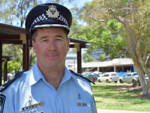 Top cop goes into quarantine as he arrives back on Coast