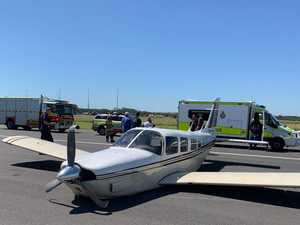 Outback airport closed following crash landing