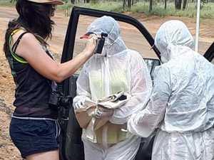 Protesters allege 'virus breeding ground' at mine sites