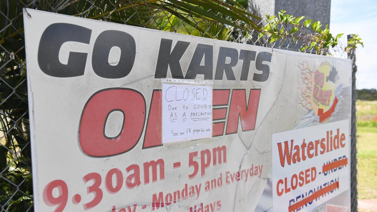 Virus Closure - Hervey Bay Go-Kart track is closed until further notice. Photo: Cody Fox
