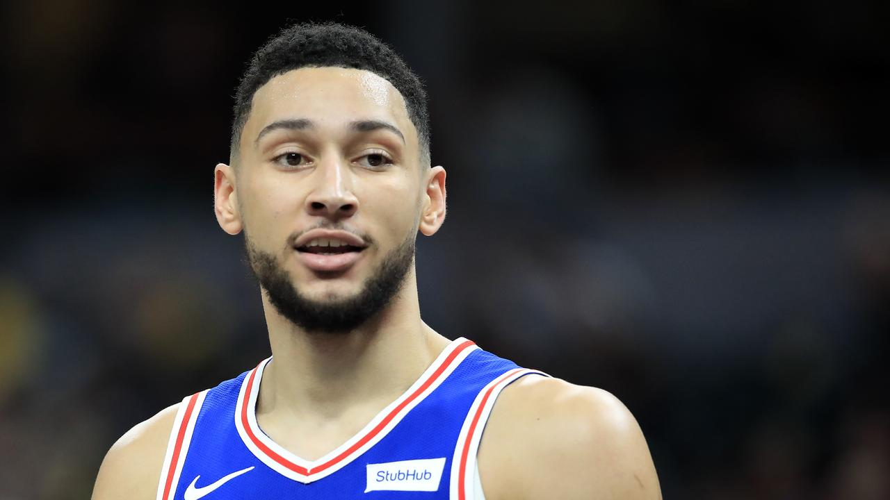 Ben Simmons delivered a subtle clip for a rival superstar.