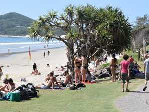 North Coast beach could close if people don't stay apart