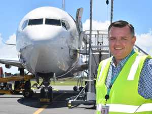 Mackay Airport reacts to coronavirus flight