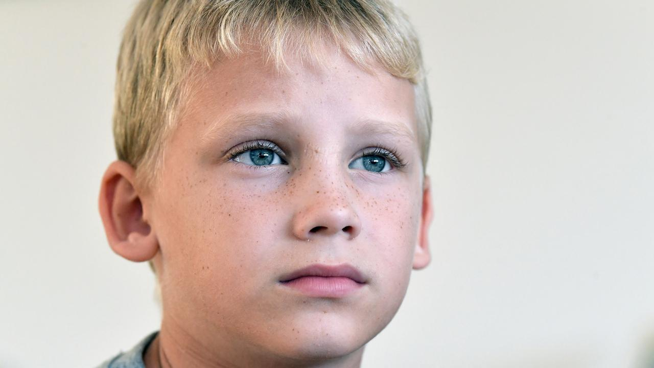 George Lloyd, 7, was given Ritalin, a medication for ADHD, instead of his prescribed antibiotics. Photo: Patrick Woods