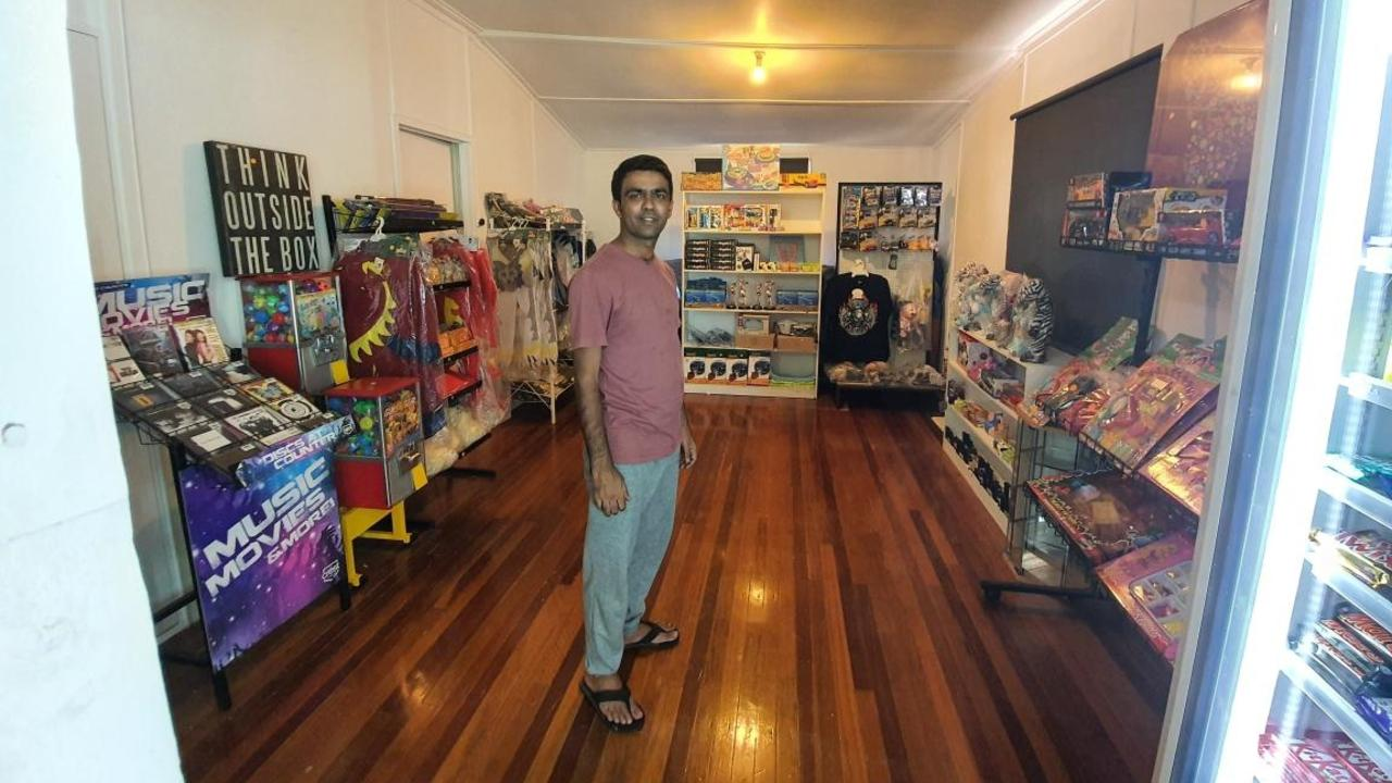 GIFT SHOP: Glenore Grove Store owner Tariq Bozdar embraced the idea of extending his shop and set about making it a reality.
