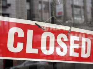 SHUT DOWN: Affected businesses close doors