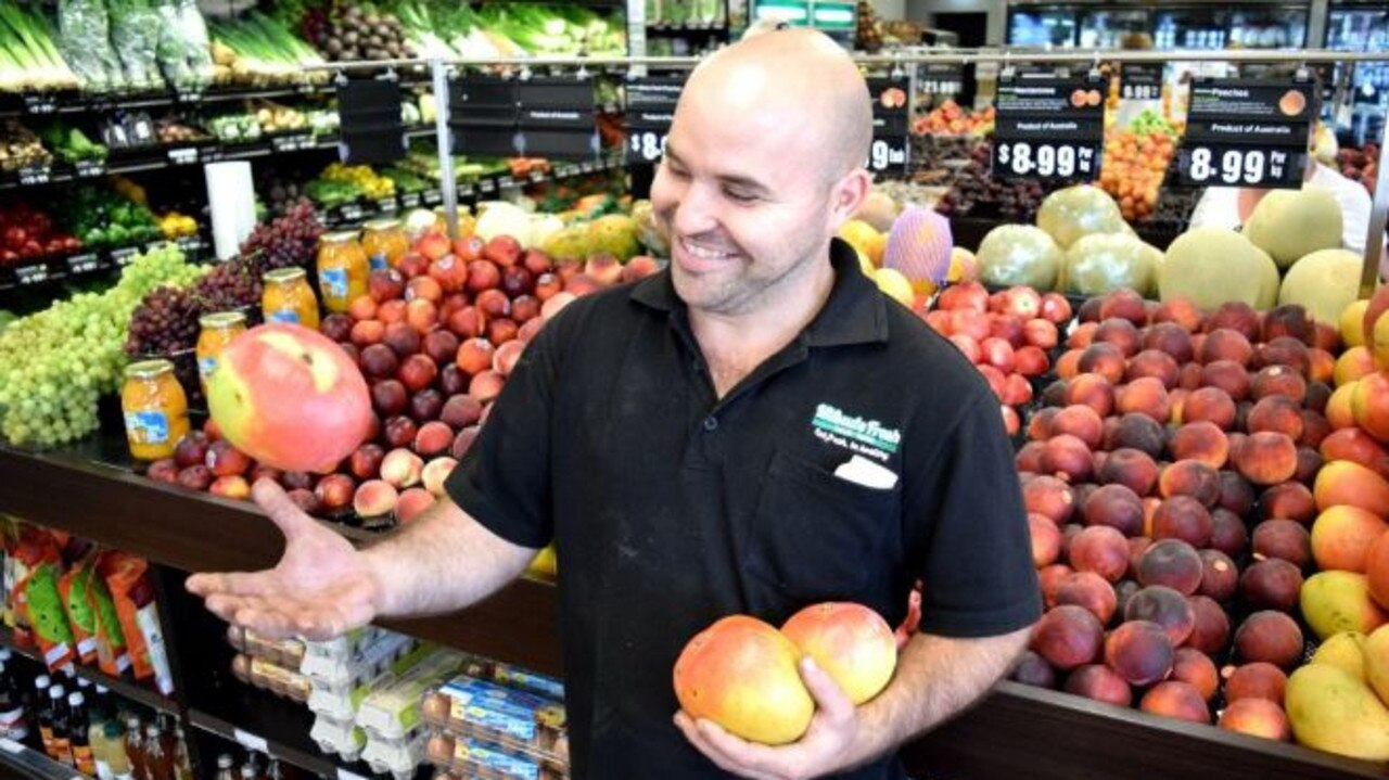Mark Mifsud of Mifsud's Fruit Barn Mackay. Picture: Louise Starkey.