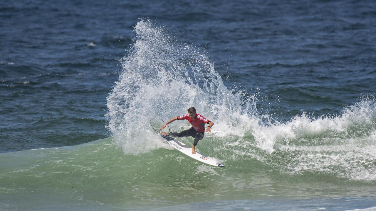 Dakoda Walters in the Vissla Central Coast Pro