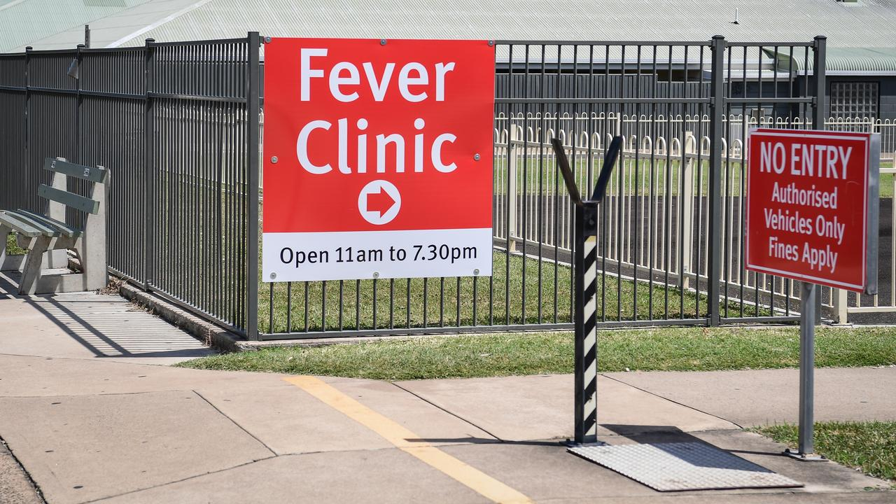 Stock photo of a QLD hospital Fever Clinic.