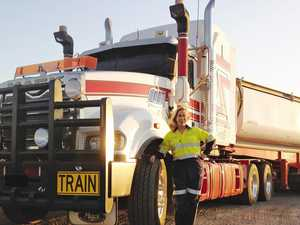 She campaigned against truckies; now she campaigns for them