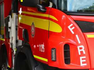 Crews called to fire at sewage treatment plant