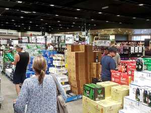 Swamped bottle shops 'busy as Christmas'