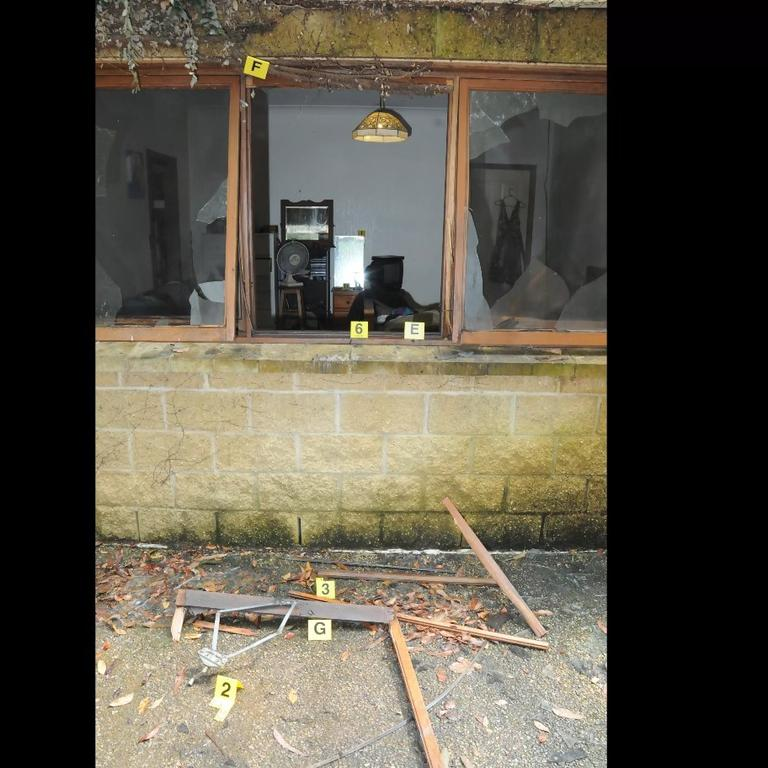 The blast caused significant damage and, while two women and a young child were inside the home at the time, no one was injured.