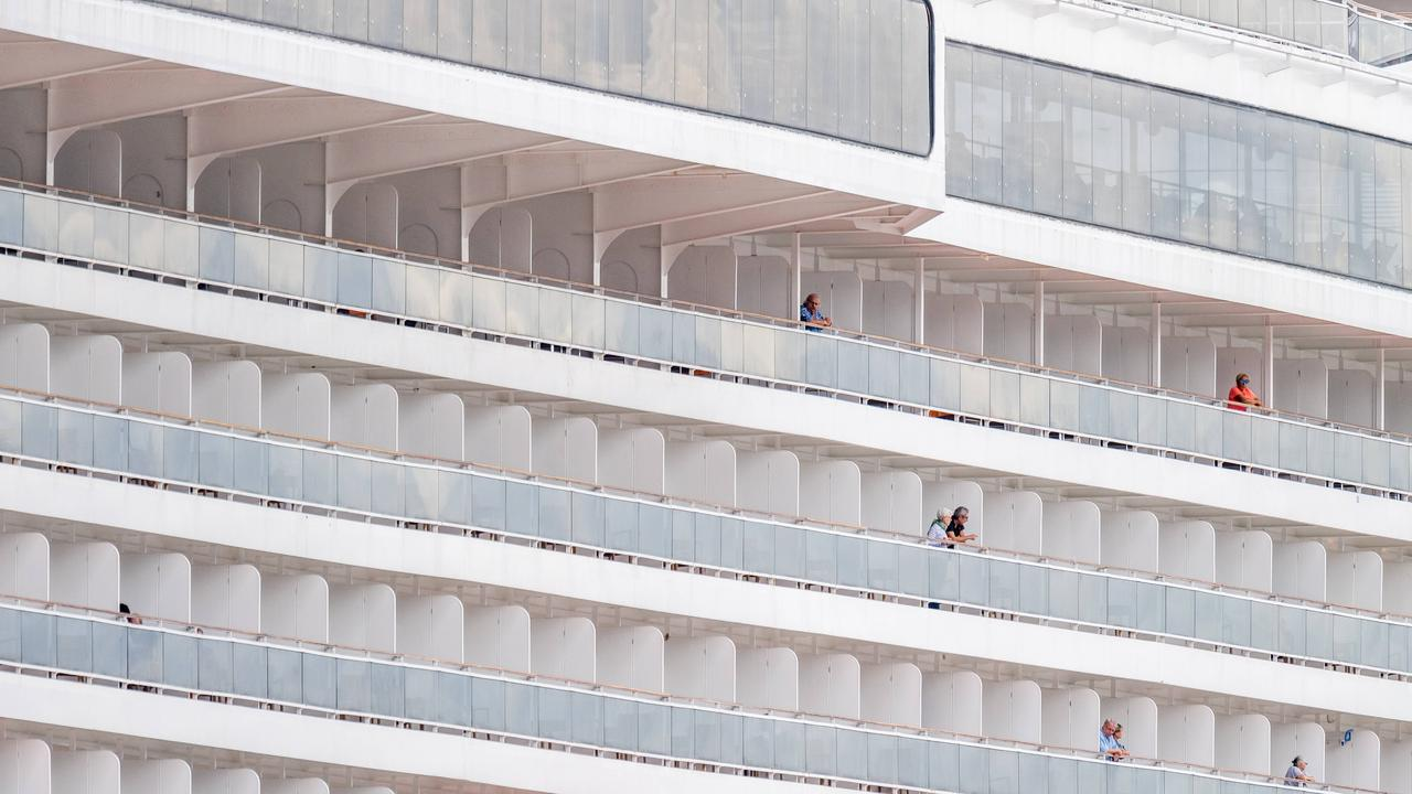 Passengers on-board the MSC Magnifica will not be able to disembark. Picture: Jake Nowakowski