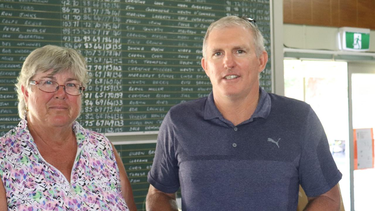 Kingaroy Golfer Graham Hourn took out the men's A-grade competition.