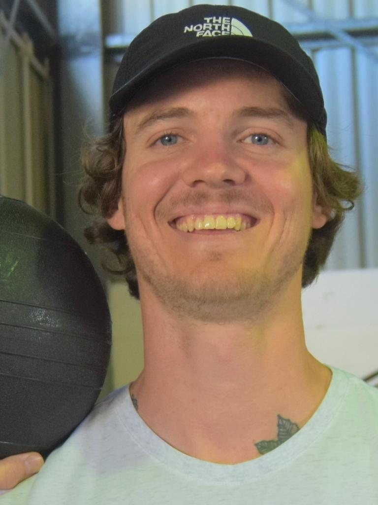 Gympie's best trainer Jarryd Gorman is offering his clients videos on his Facebook Page J. Gorman PT.