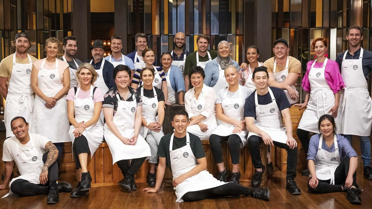 The full MasterChef 2020 cast. Picture: Supplied.
