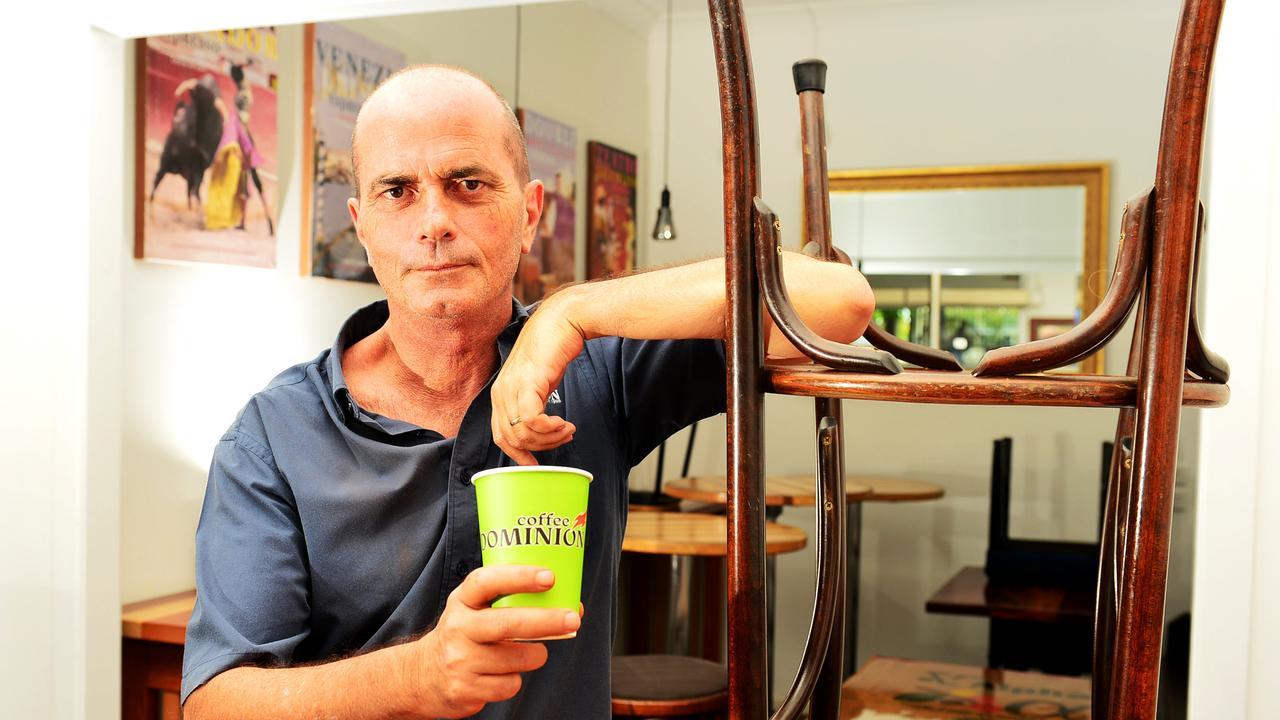 Flinders St cafes shutdown