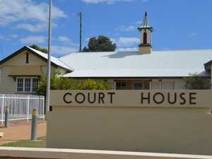 Man blasted for using court as 'drop-in centre'