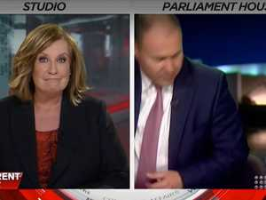 Tracy Grimshaw stunned as Frydenberg bolts interview