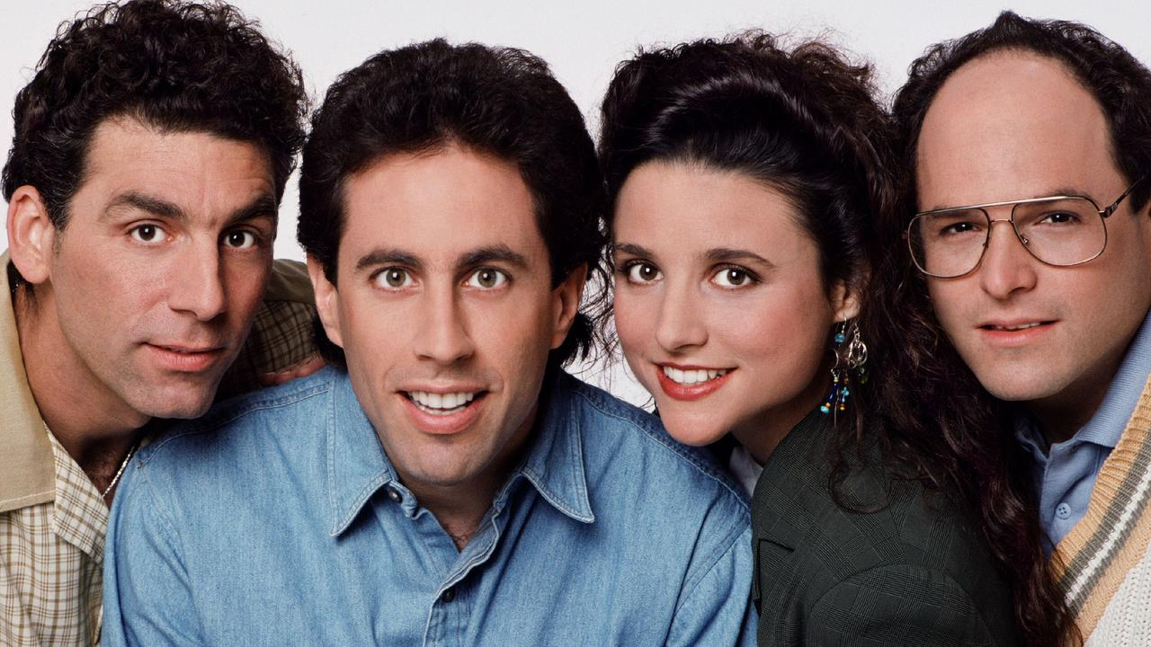 Seinfeld cast: Michael Richards, Jerry Seinfeld, Julia Louis-Dreyfus and Jason Alexander.
