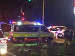 Man injured after being struck by vehicle